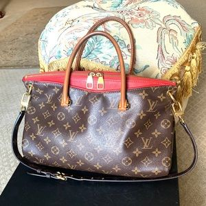 LOUIS VUITTON Dahlia Pallas 2way Monogram Canvas